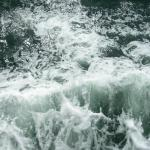 "Rough Waters ""Waters wash clean the unsettled within — What do our waters need to purge inside?"""